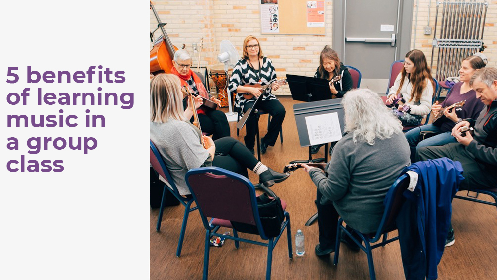 benefits of group music lessons