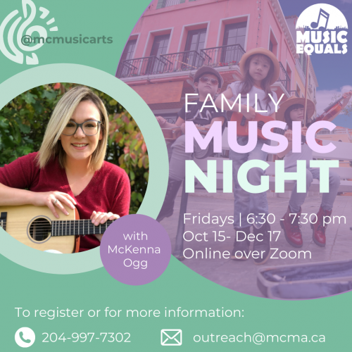 Music Equals Instagram Family Music Night Fall 21